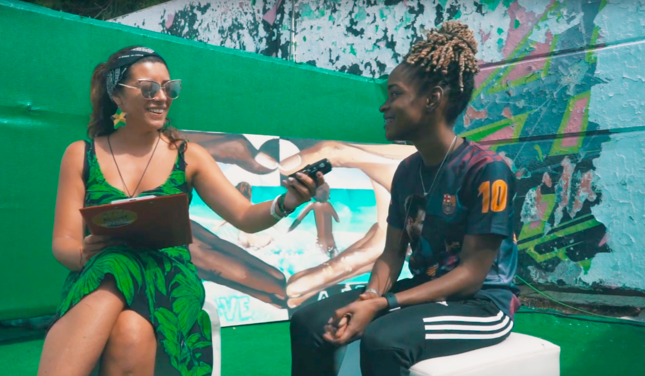 Official Video interview with Koffee for Rototom Sunsplash 2018